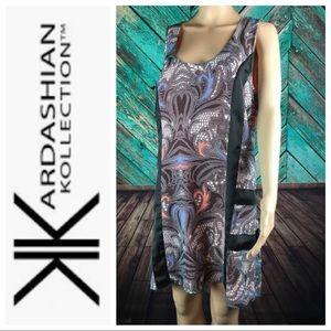 Kardashian Kollection Hi Low Summer Dress